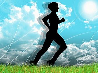 太陽の下での運動がセロトニンを増やす