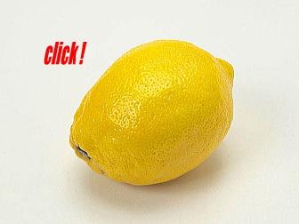 酸っぱさが疲労回復に効くレモン